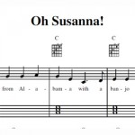 Oh Susanna Sheet Music