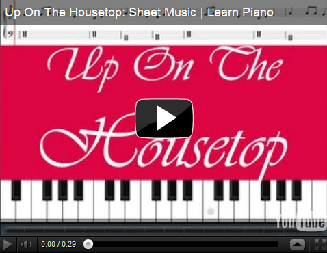 Up On The Housetop Sheet Music