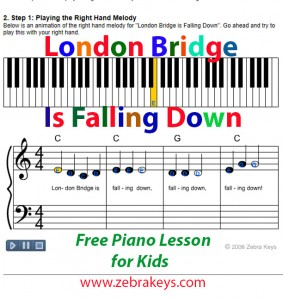 How To Play London Bridge Is Falling Down 3