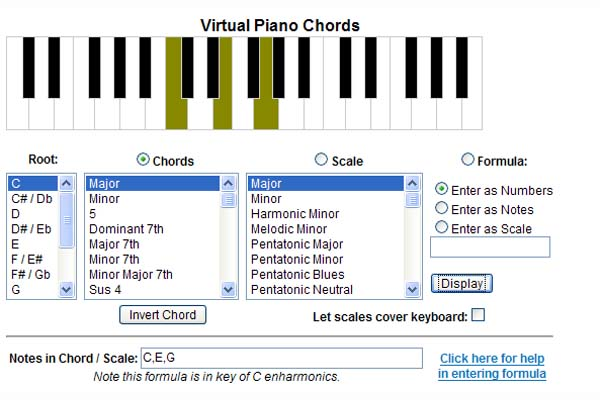 F Piano Chord Chart Images u0026 Pictures - Becuo