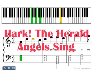 Zebrakeys_Hark_The_Herald_Angels_Sing