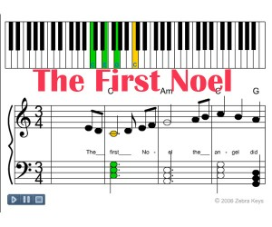 Zebrakeys_The_First_Noel