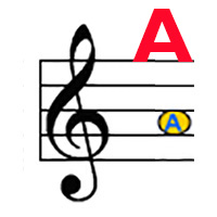 Treble A label