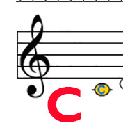 Treble C label