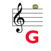 Treble G hi label