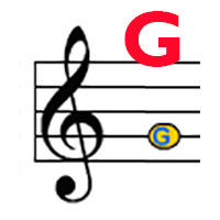 Treble G label