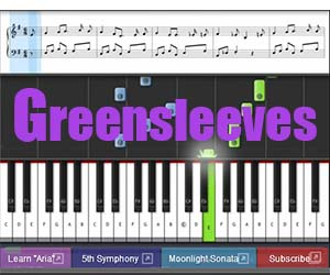 How to play Greensleeves